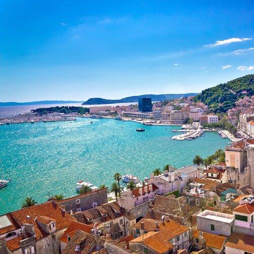 Split - přístavní město plné slunce