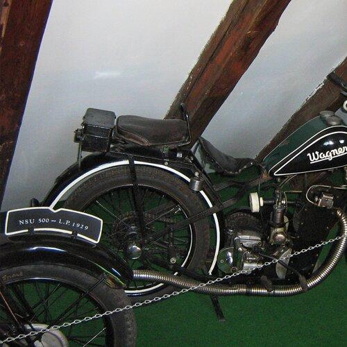 Muzeum historických motocyklů Kašperské Hory