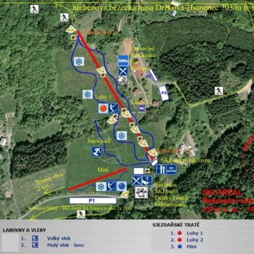 Skiareál Hostýnské vrchy – Trnava
