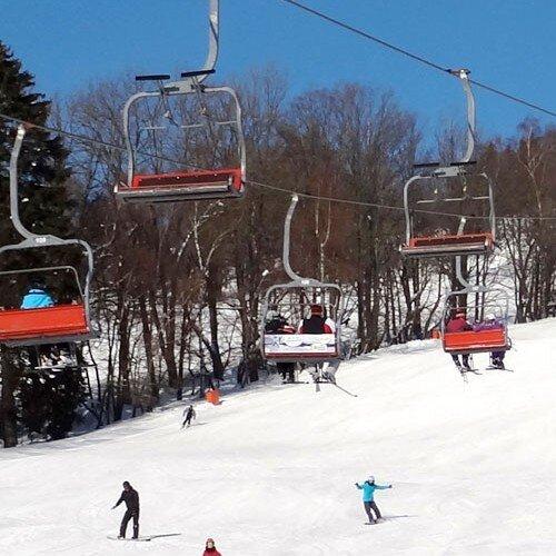 Ski areál Černý Důl