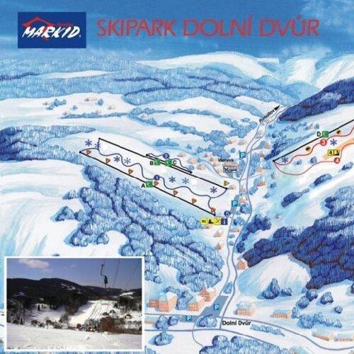 Ski areál Dolní Dvůr - Ski Family