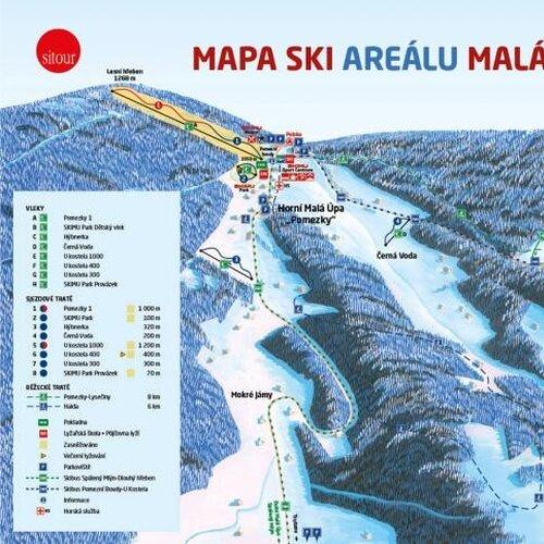 Ski areál Malá Úpa
