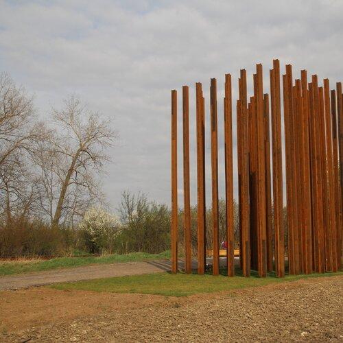 Mikulov - památník Brána ke svobodě