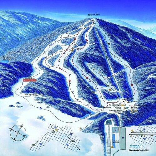 Ski areál Železná Ruda - Špičák