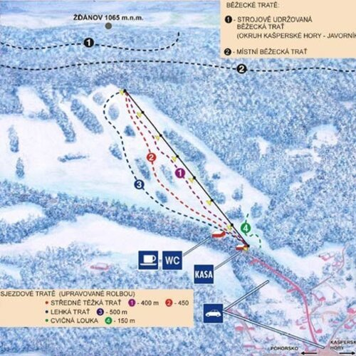 Skiareál Nezdice