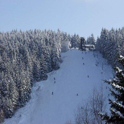 Ski areál Bublava - Stříbrná
