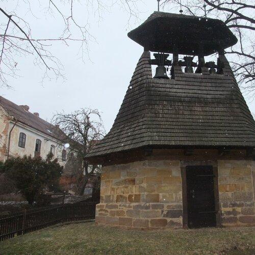 Historická zvonice v Neprobylicích