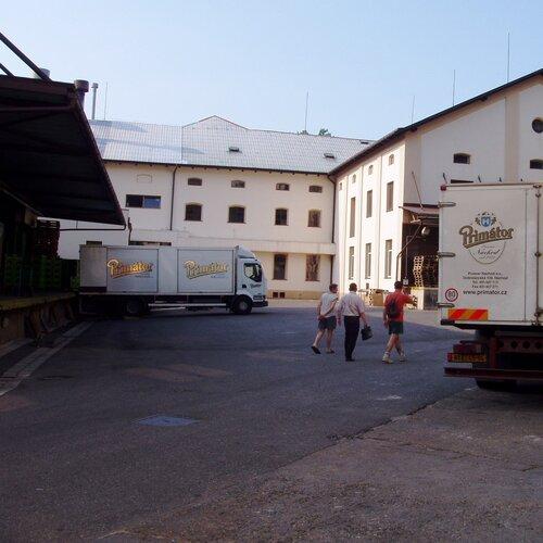 Náchod - pivovar Primátor