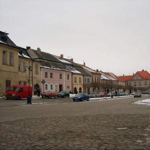 Mírové náměstí Kouřim