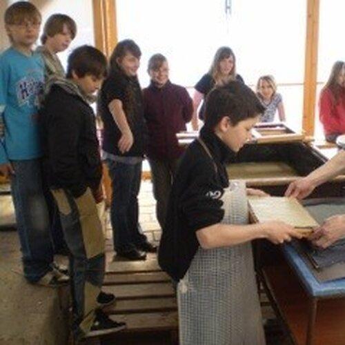 Ruční papírna Stará Škola Želetice
