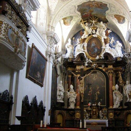 Barokní klášter Doksany