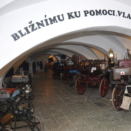 Hasičské muzeum Dřevohostice