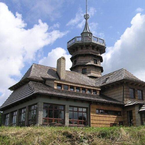 Vrchol Dobrošov - Jiráskova chata