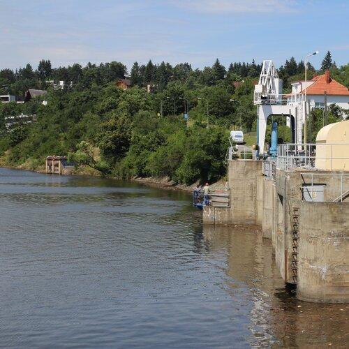 Brněnská přehrada - hráz