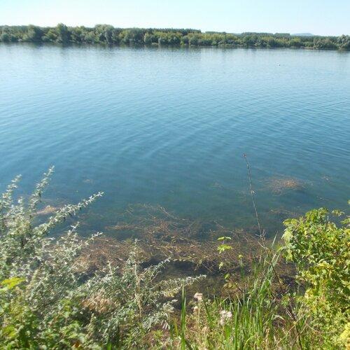 Štěrkopísková jezera v Ostrožské Nové Vsi