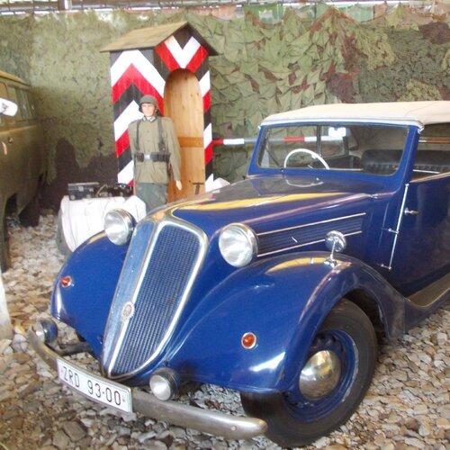 Tatra muzeum Bítov