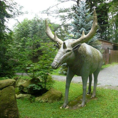 Park pravěkých zvířat Sebnitz
