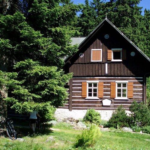 Bývalá sklářská osada Kristiánov