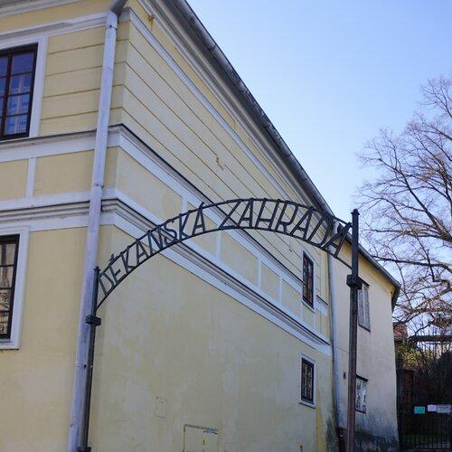 Děkanská zahrada Pelhřimov