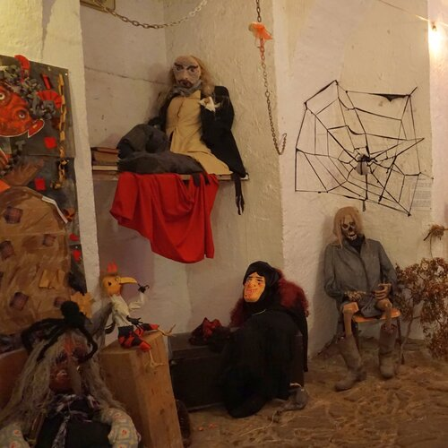 Muzeum a strašidelné sklepení Trhová Kamenice