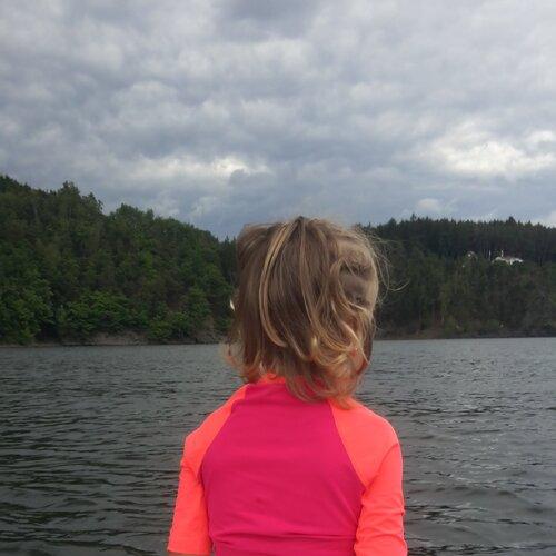 Paddleboard a Hracholuská přehrada