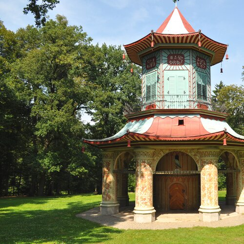 Vlašimský zámecký park