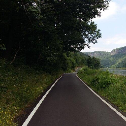 Výlet po cyklostezce z Děčína do Dolního Žlebu