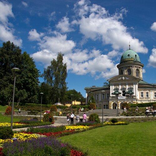 Lázeňské město Landek