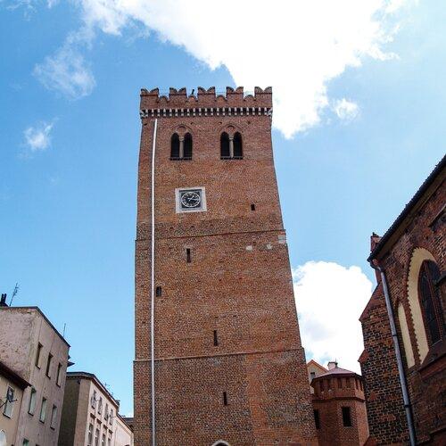 Šikmá věž v Ząbkowicích