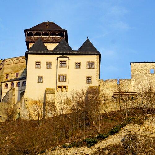 Trenčínský hrad a lesopark Brezina