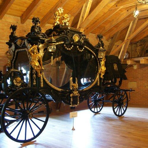 Muzeum kočárů v Čechách pod Kosířem