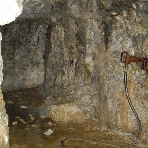 Grafitový důl pod Českým Krumlovem