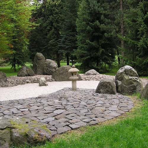 Japonská zenová zahrada Karlovy Vary