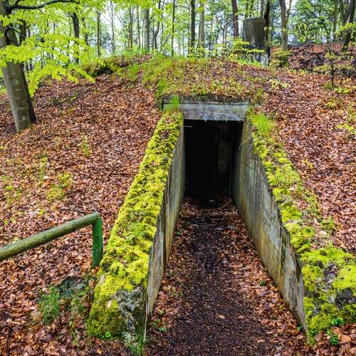 Podzemní město na ostrově Volyň