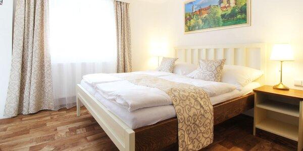 Český Krumlov: nový apartmán u centra pro dva