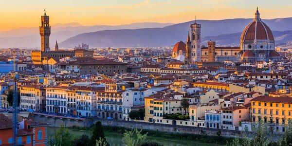 Podzimní Toskánsko: Pisa i Florencie, 2 noci