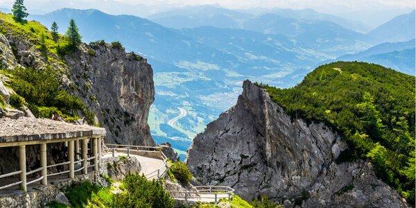 Největší ledová jeskyně světa a Salzburg