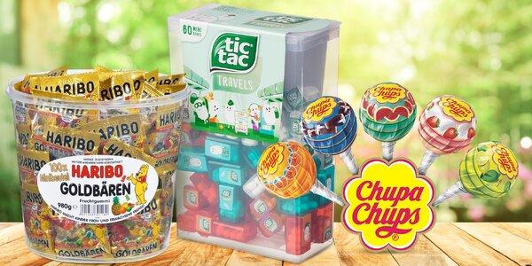 Obří balení Tic Tac, lízátek Chupa Chups i Haribo