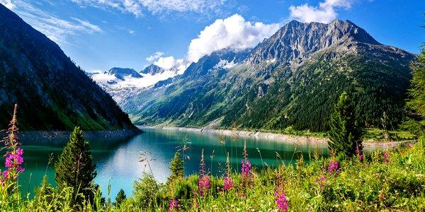 Tyrolské Alpy: All inclusive pobyt s wellness