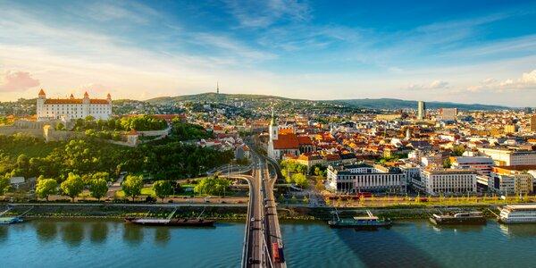Pobyt u Bratislavy se snídaní a vstupem do bazénu