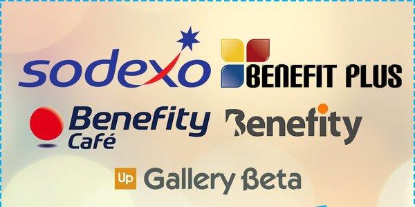 Jsme komplet! Všech 5 benefitních společností najdete u nás na Slevomatu