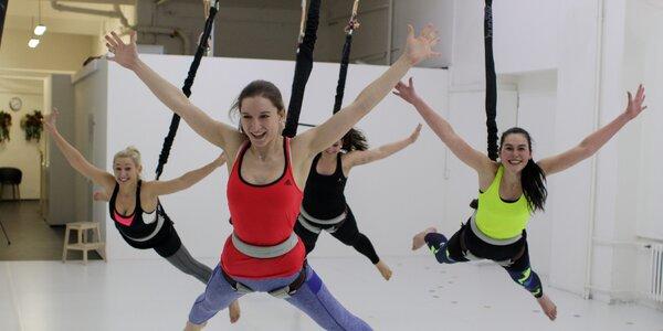 Vyzkoušejte novinku: Zábavné cvičení Bungee workout