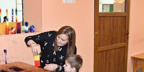 Mama blogerka testuje svíčkárnu Rodas: líbí se tu dětem?