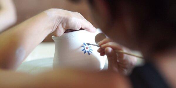 Tohle zkuste: Workshop vyrábění keramiky