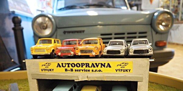 Muzeum Trabantů: nechte děti poznat retro vozítka od střechy po motor