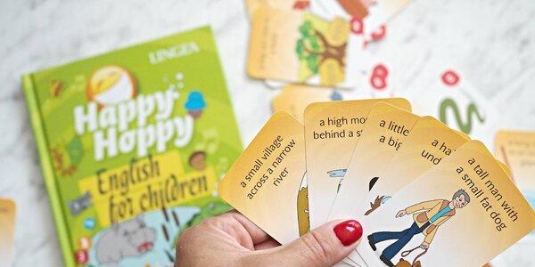 Angličtina pro děti. Kdy začít? Mama blogerka testuje hravé karty od Lingea