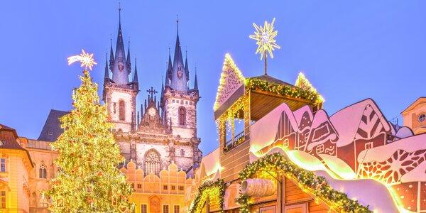 Užijte si adventní Prahu: tipy na vánoční trhy a kde se ohřát