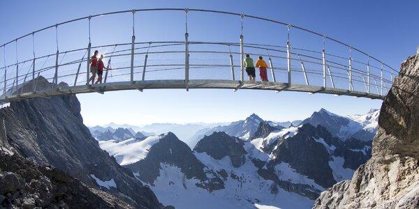 Visutý most na Titlisu a historický Luzern