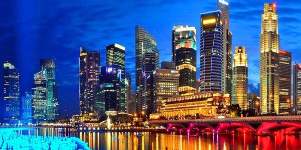 Letecky do Singapuru na Velkou cenu F1, 4 noci