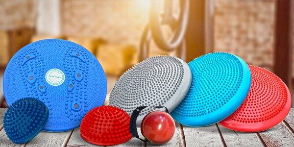 Masážní a balanční polštář i podložky na cvičení